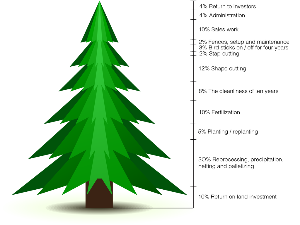 how much does a christmas tree cost price_on_christmasstree_overgaard - How Much Do Real Christmas Trees Cost